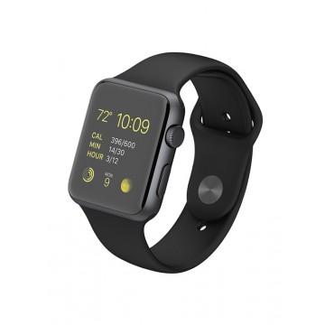 Apple Watch Sport 42мм Space Gray Aluminum Case с черным спортивным ремешком